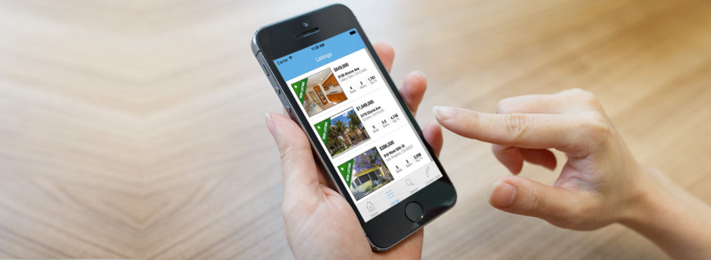 real estate apps for home sales.