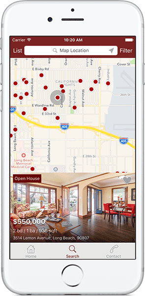 Iphone silver map